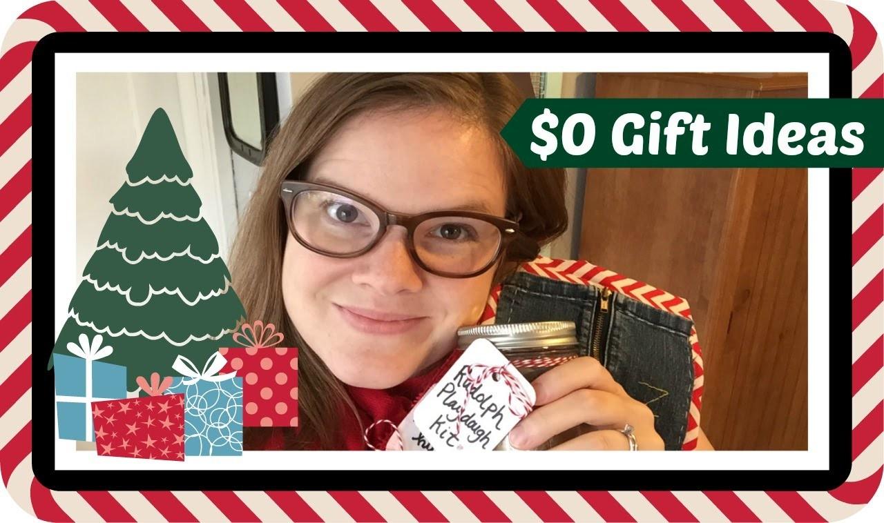 $0 DIY Christmas Gift Ideas