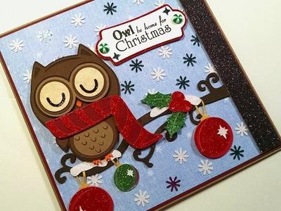 2014 #15 Owl be Home for Christmas Christmas Card