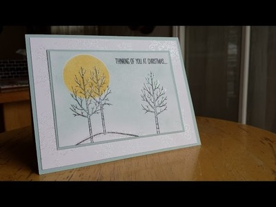 2014 Holiday Card Series Day 8 featuring Stampin' Up! White Christmas