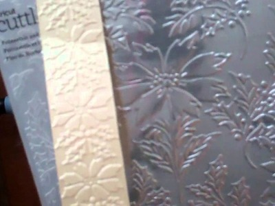 Anna Griffin Christmas Folders and Dies autoship from HSN
