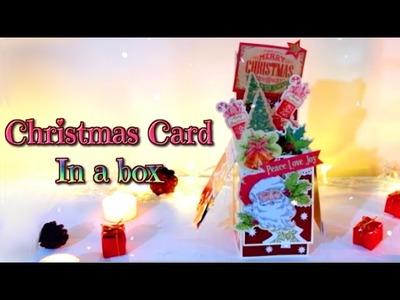 Christmas card in a box DIY - Isa ❤️
