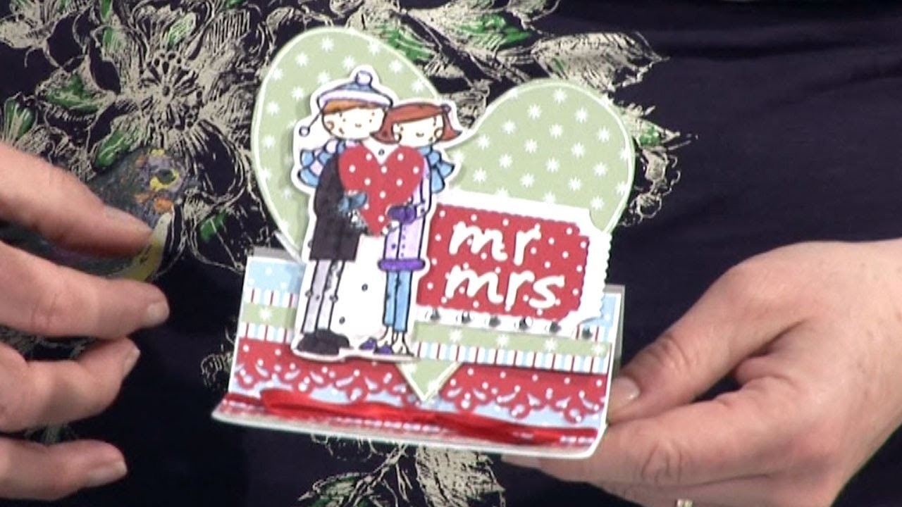 Christmas Papers for Every Day Card Making   docrafts Creativity TV
