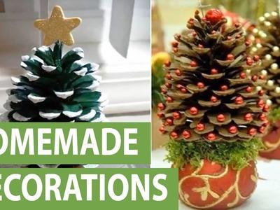 DIY: 11 mini Christmas tree decoration ideas