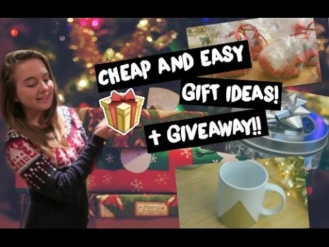DIY CHRISTMAS GIFTS! + GIVEAWAY! | Eve