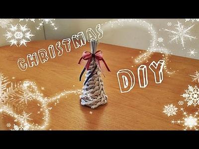 DIY Christmas tree | paper rolls
