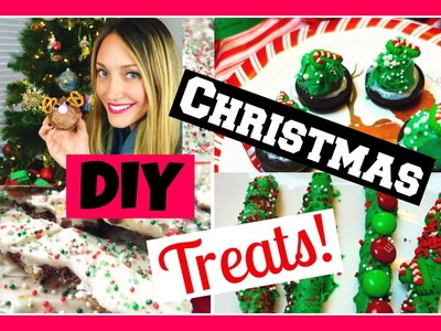 DIY Holiday Candy Treats ♡ Pinterest Inspired Christmas Party Desserts