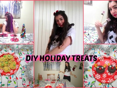 DIY Holiday Treats 2014 ♡ Pinterest Inspired Christmas
