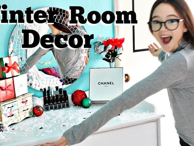 Holiday Room Makeover!! DIY Room Decor for Winter & Christmas | Make it Fancy | Fiona Frills