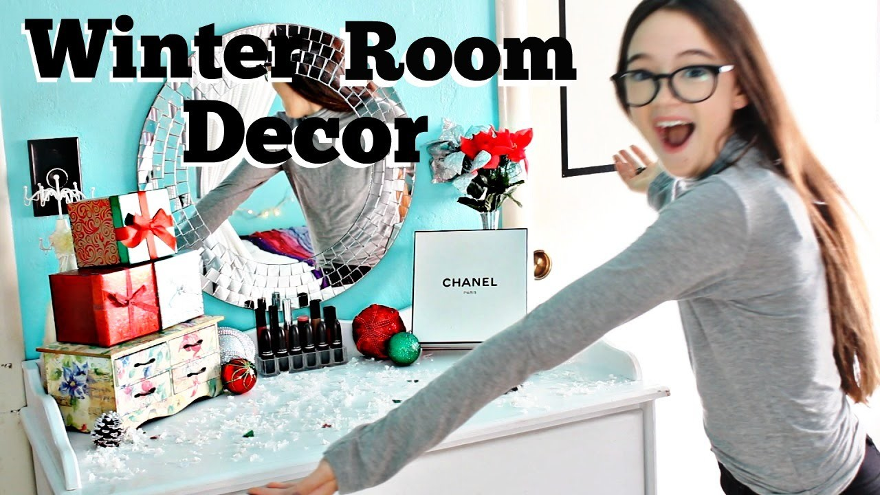 Holiday Room Makeover!! DIY Room Decor for Winter & Christmas   Make it Fancy   Fiona Frills
