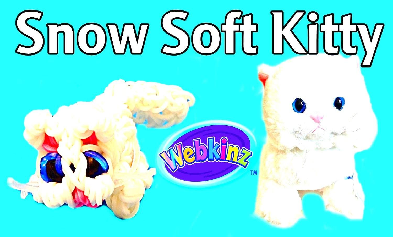 """How to Make DIY (Amigurumi) """"New 3D Cat  Webkinz"""" from Rainbow Loom. On The Loom"""