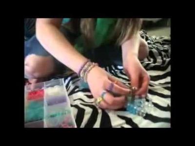 Infinity Ring Rainbow loom tutoria   rainbow loom bracelet