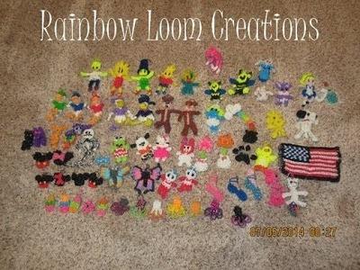 Rainbow Loom Creations