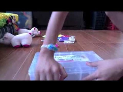 Rainbow Loom Haul & Organising My bands