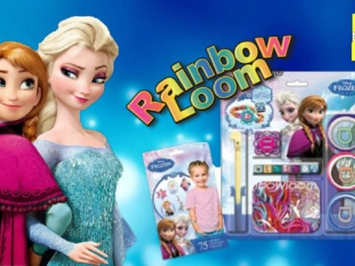 ♥ ♥Rainbow Loom With Elsa Frozen & Anna ♥ Learn How to Loom Easy Crafts Project