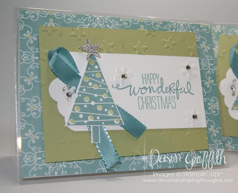 Window Sheet Christmas card with Dawn