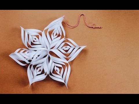 Christmas craft: How to make a Christmas star
