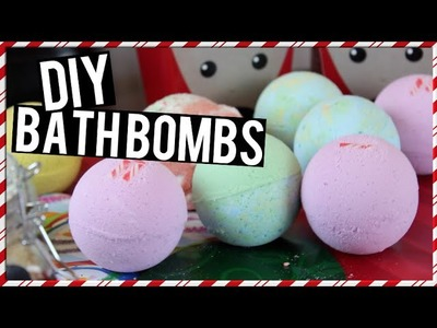 DIY: Bath Bombs ~ Easy & Quick! Christmas Gift Idea!