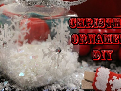 DIY Christmas Tree Ornament ♥ Snowflake