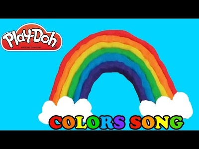 How to Make a Play-Doh Rainbow Learn Colours