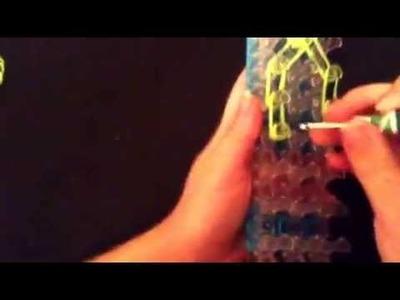How to: Make Cute Narwhal Charm on Rainbow Loom  ®