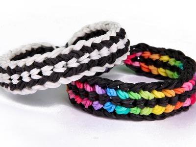 Loom bands designs - Rainbow Loom armband bracelet monstertail