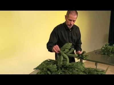 Mitchell Wreaths, Part 4 of 6 (Christmas Tree Wreath Making)
