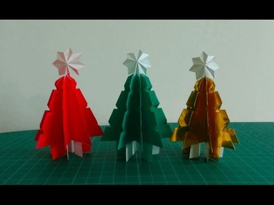 Origami【3D Christmas tree】