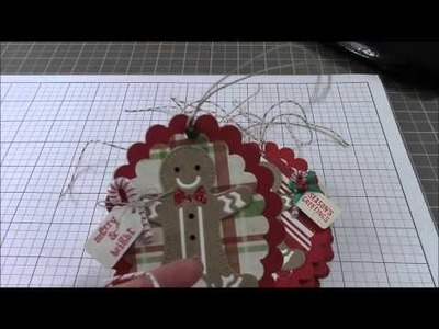 Project share wood pumpkin and Christmas Tags 2015