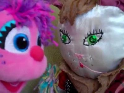 Rainbow Loom Abby Cadabby doll or Charm Cat [ part1]
