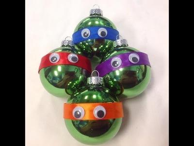 Teenage Mutant Ninja Turtle Christmas Ornaments  DIY | #12