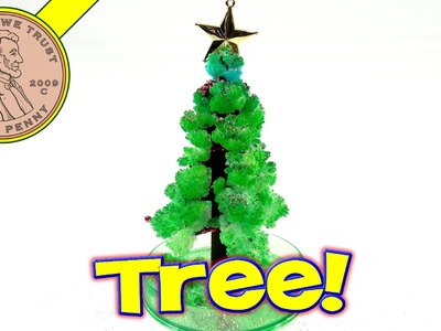 Amazing Christmas Tree, Toysmith. .Grows In One Day! | Kids Meal Toys | LuckyPennyShop.com
