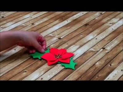 Canvas Project : Christmas Flower