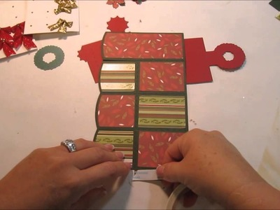 Christmas 2014 Cards and Crafts Series - Wreath Box Card