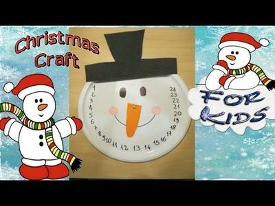 Christmas Calendar 2015 - Kids Christmas Crafts - Simple Idea for Christmas