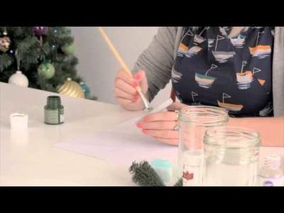 Craft corner: How to make a Christmas snow globe