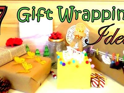 DIY 7 Creative Gift Wrapping Ideas   for Christmas or Birthdays   by FluffyHedgehog