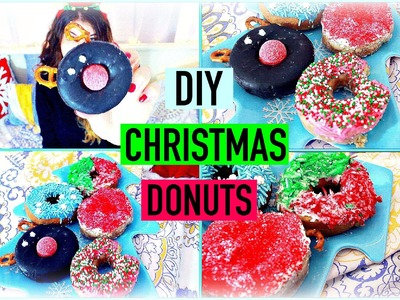 DIY CHRISTMAS TREATS! TUMBLR INSPIRED CHRISTMAS DONUTS!