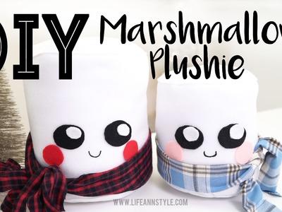 DIY CUTE Marshmallow Plushies | Christmas Gift Idea | ANNEORSHINE