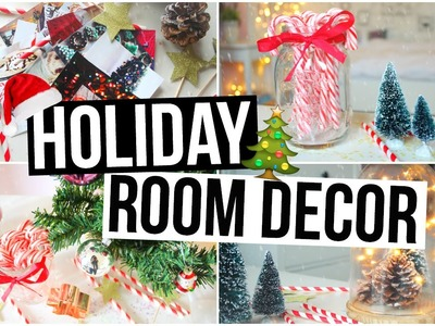 DIY Holiday Room Decor! Easy Christmas Decorations