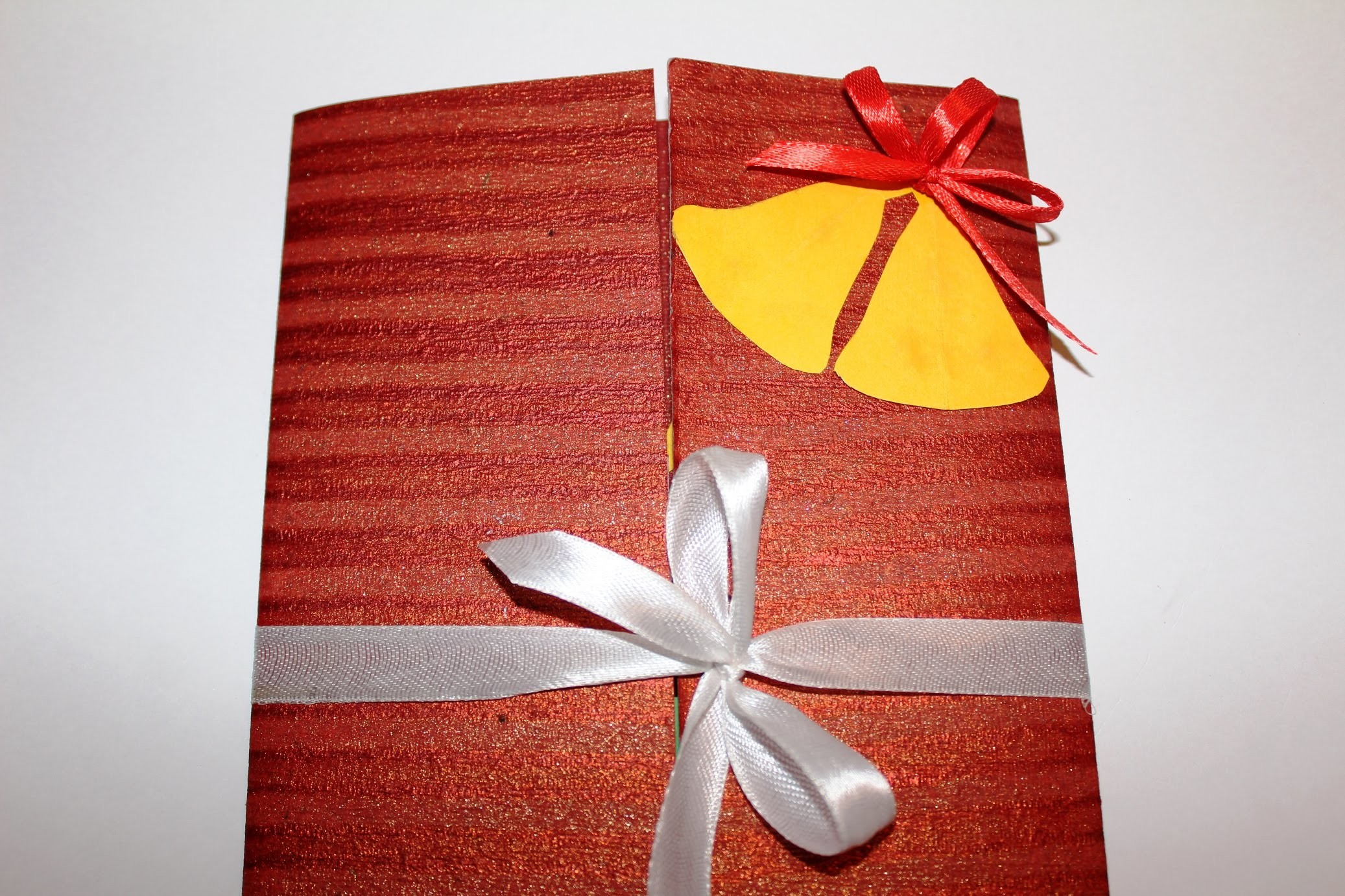DIY - How to make a Greeting card for Christmas 2015