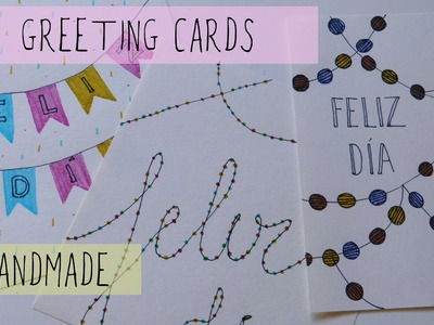Greeting cards ideas. Handmade (Birthday, Christmas)