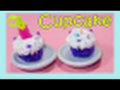 Rainbow Loom Charms: 3D CUPCAKE (Barbie + American Girl Doll Accessory, Fun Loom)