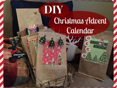 DIY Christmas Advent Calendar! DOLLAR TREE | TARGET DOLLAR SPOT | Days 1-8