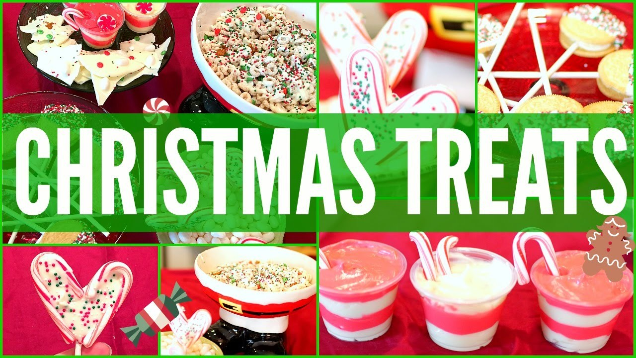 DIY CHRISTMAS.HOLIDAY TREATS! Easy, Quick, Perfect for Parties!