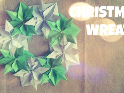 DIY Christmas Ornament - CHRISTMAS WREATH Tutorial