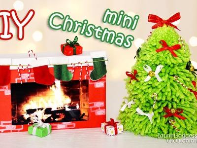 DIY Mini Christmas Decorations – Tiny Holiday Decor Ideas