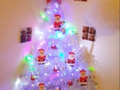 Diy wall christmas tree ♡