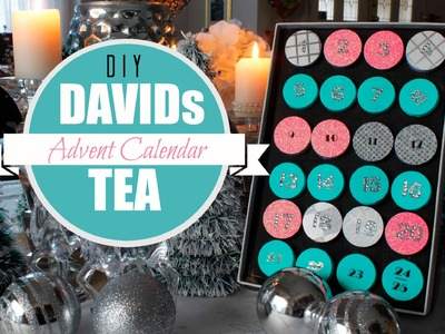 Easy DIY Advent Calendar - DAVID's TEA Inspired
