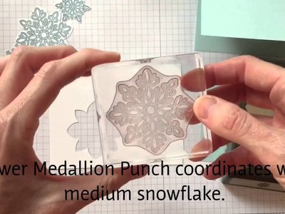 Flurry of Wishes Christmas Quick Card Tutorial