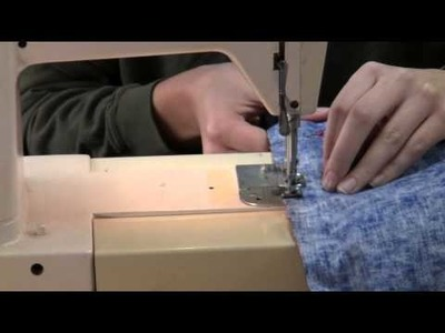 How to Make a Pillowcase: Step 3 of 7 - 1st Sewing